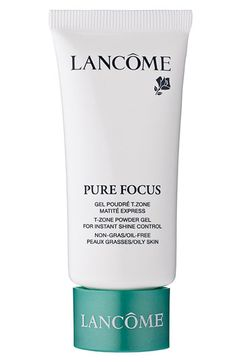 Lancome pure focus matte gel--must try!