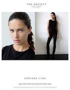How do you like my new polaroids from The Society Management? #BlackAndWhite xoxo, Adriana