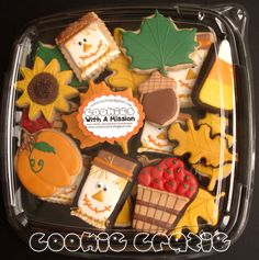 fall cookies Great tutorials on icing and decorating made easy!