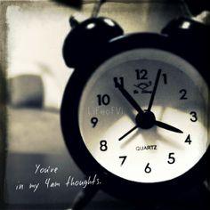 4 o'clock in the morning... #LifeofVi