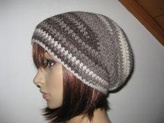 Mütze, Beanie im Boshi Style, Häkelmütze, Merino von IDS-Style auf DaWanda.com
