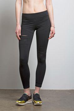 dbc22d3e8b Torn Legging from Nesh NYC. Yoga FashionFitness FashionExpensive  ClothesWorkout ...