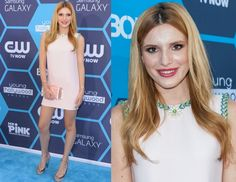 Bella Thorne at the Annual Young Hollywood Awards on July 27th in Los Angeles, California. Bella is wearing a Miu Miu dress and shoes. #prom