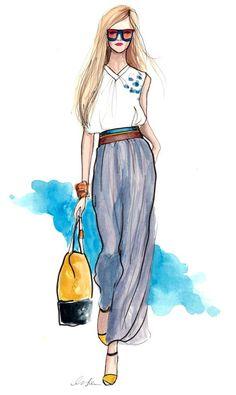 Inslee #ilustracion #moda #fashion #dibujo #boceto #sketch