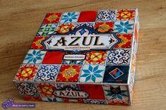 AZUL: płytki, flizy i azulejos - recenzja gry Wydawnictwa Lacerta. Board Games, Decorative Boxes, Blog, Tiles, Blue Nails, Tabletop Games, Blogging, Decorative Storage Boxes, Table Games
