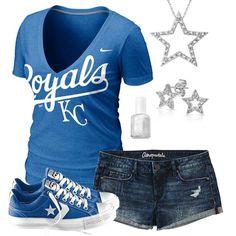 Kansas City Royals Summer All Star Outfit