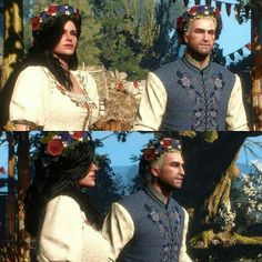 """Today's the day can't vitiate anything, dear."" Yennefer to Geralt, in the book the short story: Something ends, something begins from the book The Witcher II. - The Sword of Destiny by writter Andrzej Sapkowski."