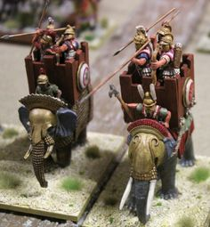 War Elephant, Vintage Models, Ancient Greece, Scale Models, Warriors, Kitchens, Christmas Ornaments, Games, Holiday Decor