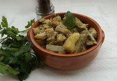 Carciofi e patate- ricetta semplice