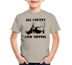 All County Cow Tipping T-Shirt, Hoodie, or Tote Bag