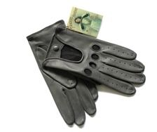 Grey Pique gloves - Randers Handskefabrik