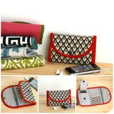 iphone wallet - type 1 -  Build your own phone wallet, iphone 4, 5 wirstlet, women wallets, custom wallets, gadget case, iphone case