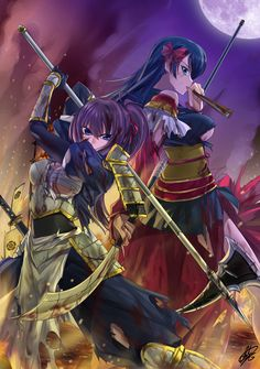 Niwa Nagahide & Shibata Katsuie (Oda Nobuna no Yabou)
