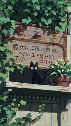 To nie moje<br> Studio Ghibli Films, Art Studio Ghibli, Studio Ghibli Poster, Totoro, Art Anime, Anime Kunst, Hayao Miyazaki, Animes Wallpapers, Cute Wallpapers