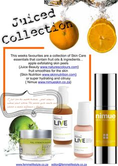 juiced collection #juicebeauty #nimue #skin nutrition Skin Nutrition, Juice Beauty, Fruit Smoothies, Lime, Skin Care, Apple, Collection, Food, Lima