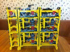 Compleja calculadora construida con Lego