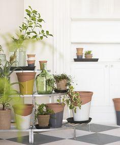 indoor planters from Terrain