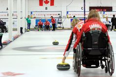 Teams from across Canada had their first practice at the Fort William Curling Club on Sunday