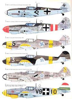 43 Messerschmitt Bf109