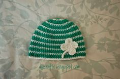 #crochet hat pattern from Alli Crafts