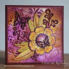 Corine's Gallery: Chocolate Baroque Tangled Garden
