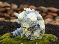 hand tied round nosegay bouquet