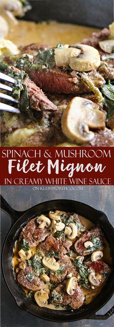 Spinach Mushroom Fil