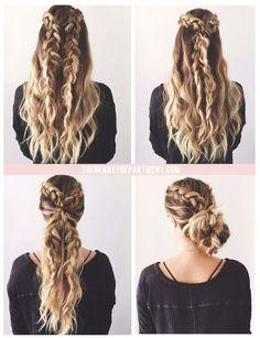 2 braids, 3 ways!: