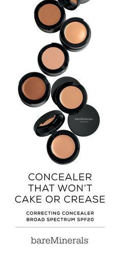 This creamy formula of Correcting Concealer Broad Spectrum SPF 20 by bareMinerals combines SPF protection with superior, lightweight coverage that blends seamlessly to conceal blemishes, dark under-eye circles and other skin imperfections all day long.