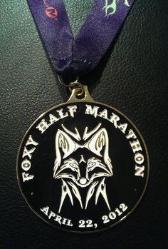 Foxy Half Marathon Medal (2012)http://www.dirtdevilracing.com/2014-foxy-trail-half-marathon/