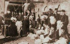 Eski Ankara, yün pazarı