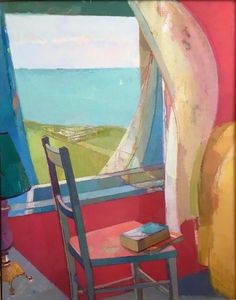 Jane Patterson, Window IV, 2014 Painting Inspiration, Art Inspo, Open Art, A Level Art, Window Art, Naive Art, Watercolor Artwork, Art Drawings, Illustration Art
