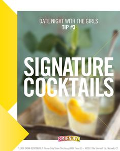 Every party with the girls needs a signature cocktail. Try the new Smirnoff Sorbet Light Vodkas with these great recipes here: smir.nf/SrbRcps  #Smirnoff #SmirnoffSorbet #DrinkRecipes #GirlsNight #Party