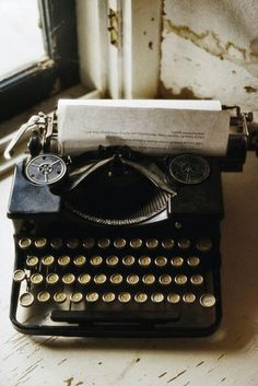 An alternative tool for letter writing. Loved the vintage quality of this image. :-)