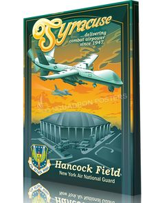 f5f993201ea Share Squadron Posters for a 10% off coupon! New York ANG 174th Attack Wing