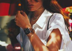 O relógio Apple desenvolvido em parceria com a Hermès
