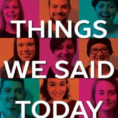 Things We Said Today, Short Plays and Monologues by Neil LaBute – Dec 20 Life's Been Good, Be Good To Me, Big Brother House, Student Performance, Monologues, Plays, My Life, Sayings, Games