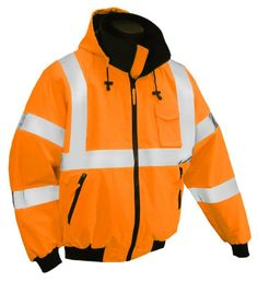 3 Season Hi Visibility Thermal Safety Jacket #C3BM7000/C3BM7001: SafetyGearOnline.com