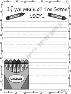 "Use with ""The Crayon Box that Talked"""
