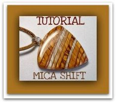 polymer clay Mica Shift Pendants Tutorial.....  This tutorial will guide you step by step, how-to create Polymer Clay Mica Shift Striped Pendants, it includes 30 pages of easy to understand instructions, and 53 color images. Fun & Easy tutorial...make your own pendants! by Dawn Redman