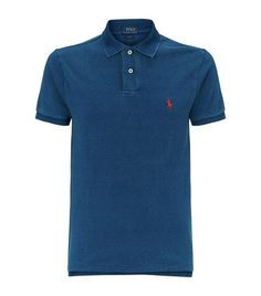ca5b9898b6f5b Polo Ralph Lauren Weathered Polo Shirt available to buy at Harrods.Shop  clothing online and