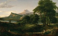 Thomas Cole's The Arcadian or Pastoral State, 1834
