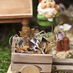 Miniature Garden Tool Set.
