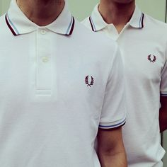 Top Button Done Up? The made in England Fred Perry Shirt.