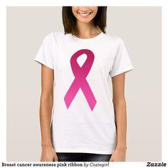 291b537b Breast cancer awareness pink ribbon T-Shirt Awareness Ribbons, Crusaders,  Breast Cancer Awareness