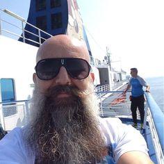 ⚓️the Beard — Bald With Beard, Bald Men, Barba Grande, I Love Beards, Beard Model, Beard Gang, Bearded Men, Barber Shop, Beard Barber