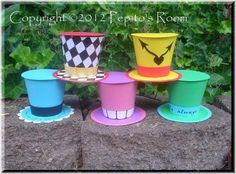 PnC Alice In Wonderland Top Hat Set 5  Print and by PepitosRoom, $10.00