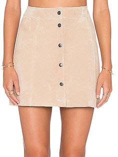 Choies Women's Faux Suede Button Down A-line Skirt Mini Dress at Amazon Women's Clothing store:
