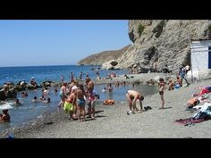 Kos attractions - We are at the natural hot springs found at Therma Beach on the Greek island of Kos in Greece. Its July at the height of summer and many tou. Island Beach, Hot Springs, Kos, Beaches, In The Heights, Brave, Attraction, Greece, Natural