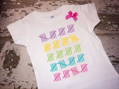 100th Day of School Shirt with Bow